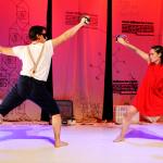Escenes d'infants(Cia. El Princep Totilau - El ballet imperial de la Reina Rosamunda) Foto 2 baixa