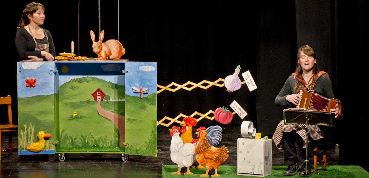 La granja més petita del món (Cia. de teatre Anna Roca)