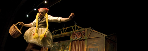 Rau Rau, la història trista de la nena trapezista (Teatre Mòbil)