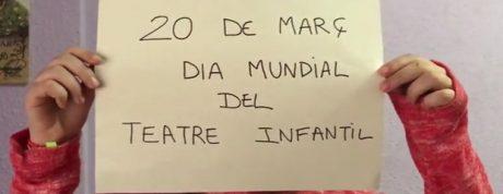 20 març - Dia Mundial Teatre Infantil