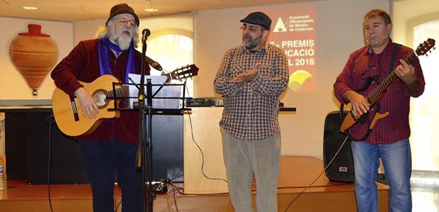 Noè Rivas, Pep López i Àngel Daban