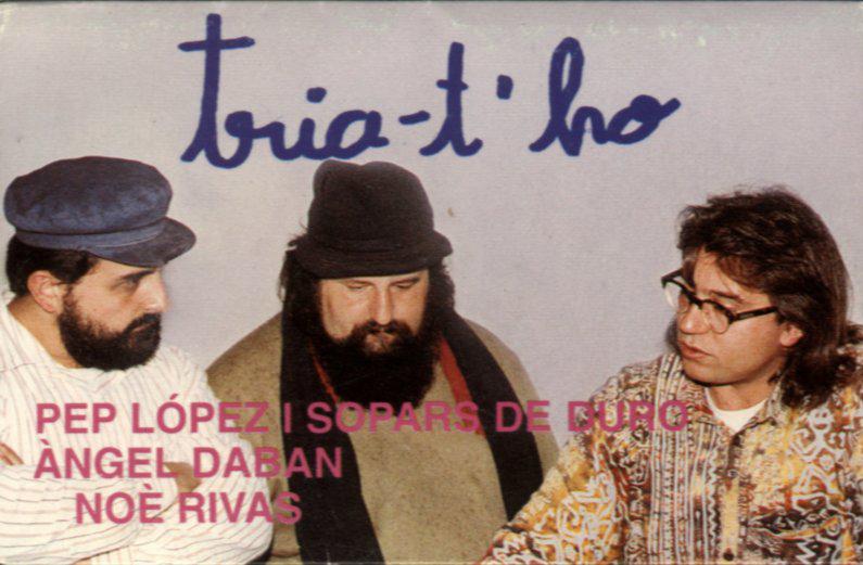 Tria-t'ho: Noè Rivas, Pep López i Àngel Daban