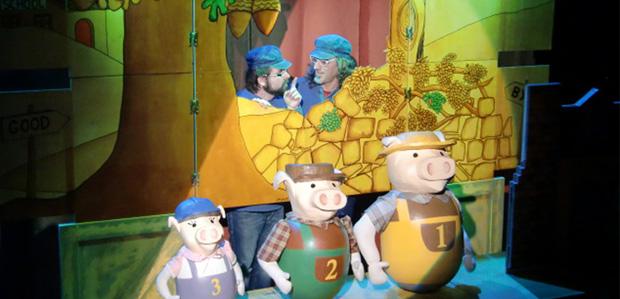 La veritable història dels 3 porquets (Xip Xap, teatre)