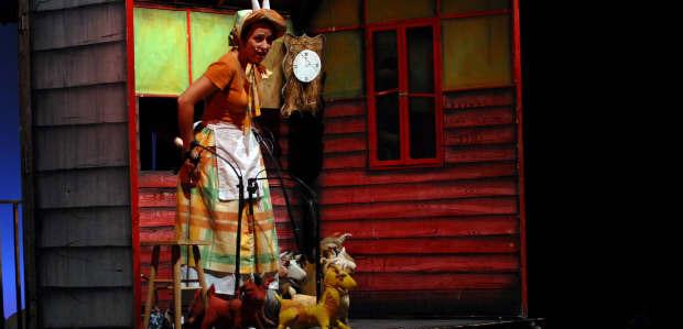 Les set cabretes i el llop (Sim Salabim)