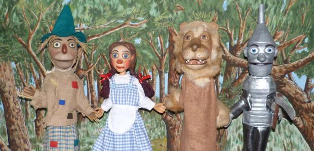 El Fantàstic màgic d'Oz (Titelles Sebastià Vergés) portada