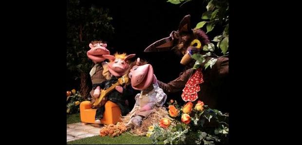 Els tres porquets (Teatre Imaginari)