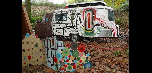 Puck cinema caravana