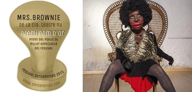 Premi Pom d'Or al Millor espectacle del Senseportes per 'Mrs. Brownie' de Teatre Nu