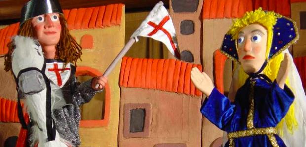 En Guinyol i la llegenda de St. Jordi (Titelles Sebastia Verges)