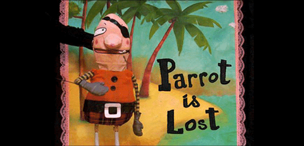 The parrot is lost