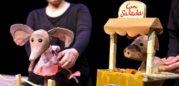 La rateta que escombrava lescaleta (Festuc Teatre)