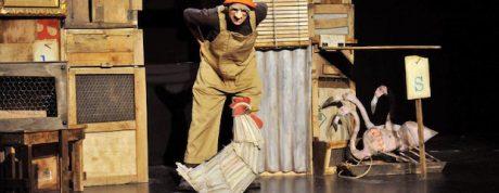 La gallina dels ous d'or (Zum zum teatre) portada