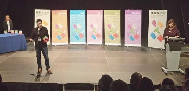 Ramon Molins, Premi FETEN 2017 millor direcció