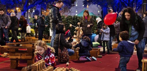 Nadal a la Plaça Catalunya - Barcelona