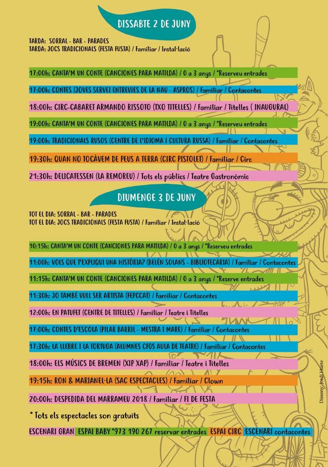 Festival Marrameu 2018