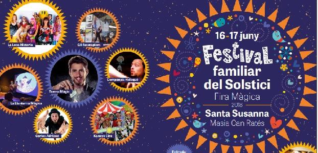 Festival familiar del Solstici - Fira Màgica 2018