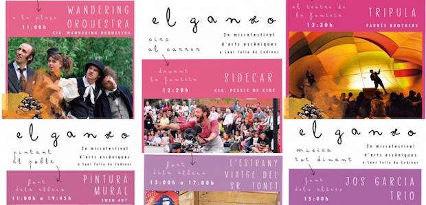 """2n Festival d'Arts Escèniques """"El Ganxo"""""""