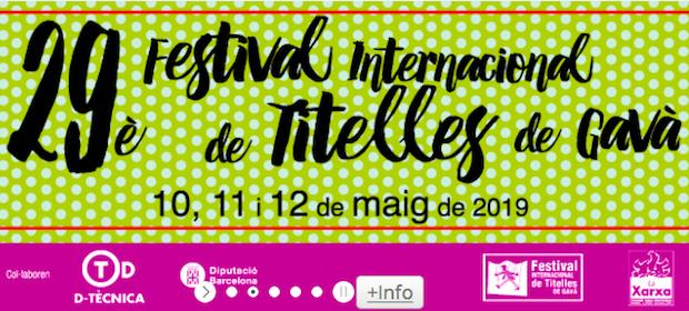 29è Festival Internacional de Titelles de Gavà