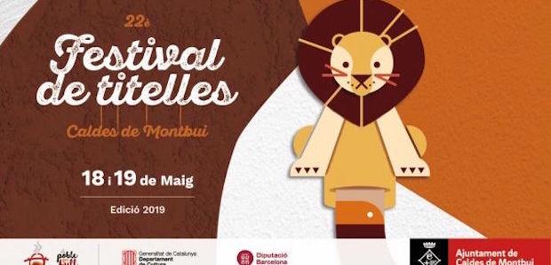 22è. Festival de Titelles de Caldes de Montbui