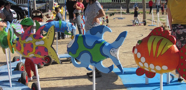PEIXOS, parc lúdic de la Mediterrània