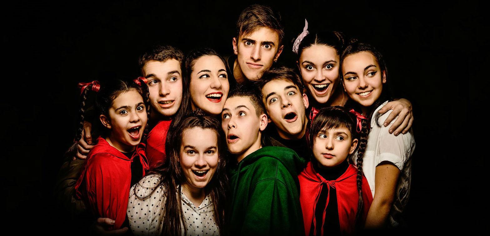 Hip Hop Big! La gran aventura de la Caputxeta Vermella i Peter Pan