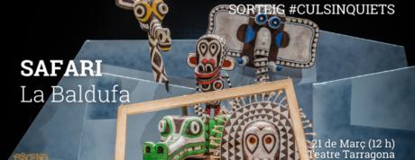Sorteig safari la baldufa tarragona imatge web