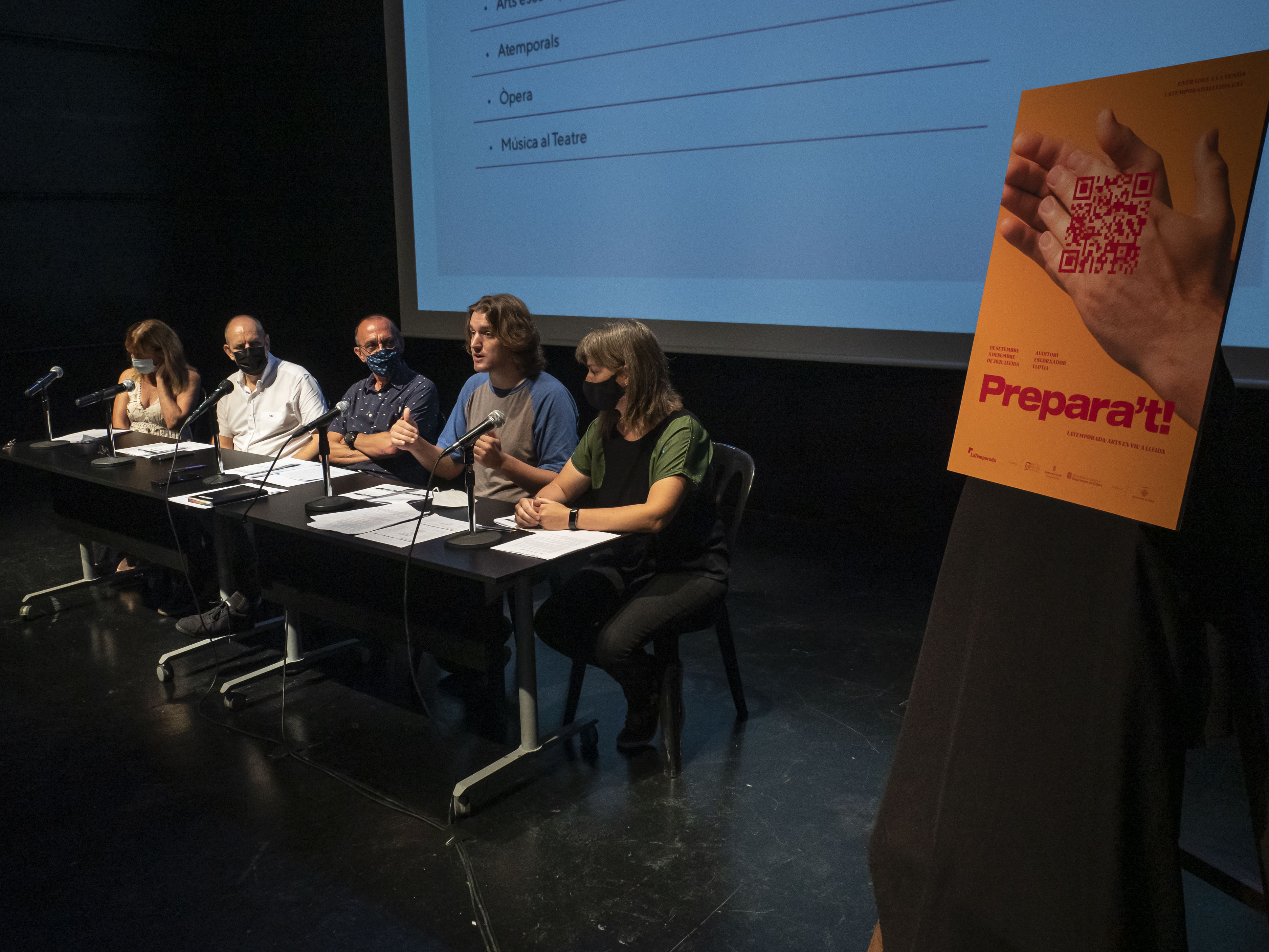 Presentació de LaTemporada del teatre públic de Lleida. @javimartin